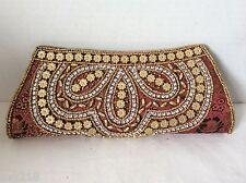 New Beaded Bag Handbag  Evening Party Bag Small Beads Sequins Clutch