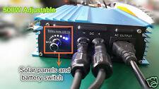 Grid tie inverter Input 50-88V For 60V Battery Adjustable Power Output 500W