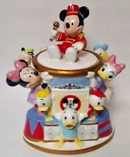 Disney Mickey Mouse Club Bandleader Cookie Jar Ceramic Retired Rare Small Chip