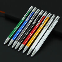 metal Housing Ballpoint Pens Office School Stationery Retractable Ball Point Pen