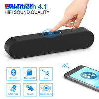 New F1 Plus Wireless Bluetooth Speaker Portable USB Loudspeaker Stereo w/Mic TF