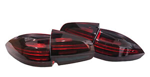 4x NEW ORIGINAL LED Tail lights Rear Lamps PORSCHE CAYENNE 958 TURBO