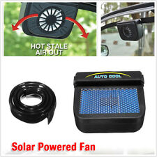 Solar Power Car Window Windshield Air Vent Auto Cooling Fan Cooler Radiator 1PCS
