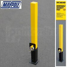 Lift Out Removable Private Car Park Parking Post Security Driveway Bollard Lock