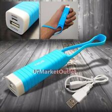 Blue Universal Mobile Phone Portable Battery Charger TRUS Power Bank 2200 mAh