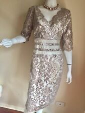 3/4 Sleeve Formal Dresses for Women with Sequins