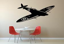 Spitfire World War Military Home Wall Art Decal Sticker AR4