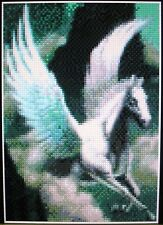 PEGASUS (FLYING HORSE) ~ Counted Cross Stitch KIT #K115