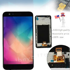Black LG K20 Plus MP260 TP260 VS501 Touch Screen Replacement LCD Digitizer+Frame