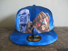 Rare MARVEL x NEW ERA Thanos 59FIFTY Fitted Cap 7 1/2 hat  infinity war gauntlet