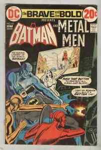 The Brave & The Bold #103 October 1972 VG Metal Men
