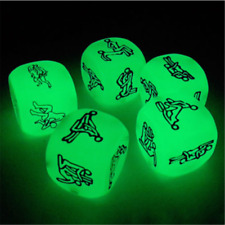 Novelty Glow in the Dark Lovers Dice Adult Sex Board Games Couple Bachelor Party