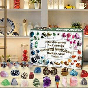 Christmas Countdown Calendars Healing Crystal Stone Advent Countdown Calendar AU