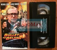 ☀️ Bullet to Beijing VHS Movie Michael Caine Jason Connery Mia Sara MINT
