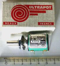 Paire Ultrapot potentiomètres 10 tours 2,2 Kohms. Linéarité 0,25% PZ 415-A