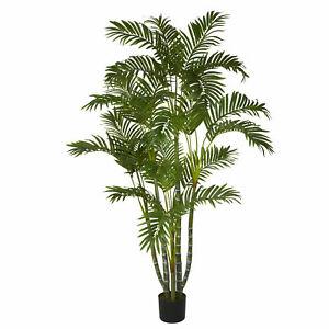 Areca Silk Tree Artificial Realistic Nearly Natural 5' Home Garden Decoration