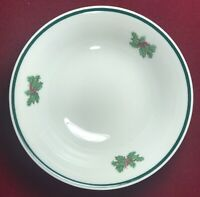 """2 Pieces Johnson Bros """"Victorian Christmas"""" 6"""" Bowls Made in England"""