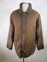 Men's Barbour Duracotton Polarquilt Wax Jacket Size XL A6867