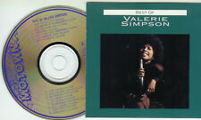 SOUL Valerie Simpson Best of CD 1991 MEGARARE !!!