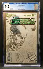 Green Lantern #1 Pencil Variant Edition CGC 9.4
