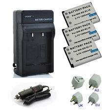 Battery  / Charger for Nikon Coolpix S3700, S6500, S6800, S7000 Digital Camera
