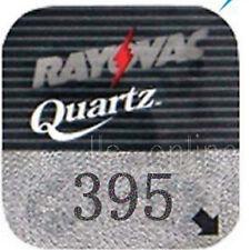 4 Rayovac 395 Silver Oxide Watch Batteries SR57 V395 LA