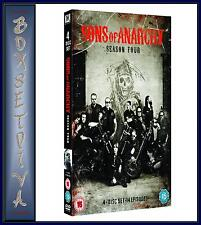 SONS OF ANARCHY - COMPLETE FOURTH SERIES -SEASON  4***BRAND NEW DVD  ***