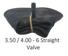 INNERTUBE ONLY 3.50 / 4.00 - 6 STRAIGHT VALVE Inner Tube TROLLEY WHEEL BARROW