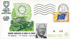 """CE15-IT3 FDC Council of Europe """"Adhesion Switzerland / PFLIMLIN, France"""" 05-1963"""
