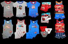 Disney Cars McQueen Boxershorts Unterwäsche Unterhemd Boxer Socken 92 - 122