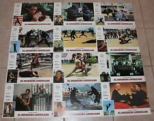 Michael Dudikoff American Ninja Spanish lobby card set martial arts
