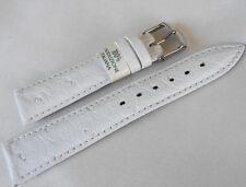 Cinturino STRUZZO ColaReb bianco 20mm ostrich white color watch band strap
