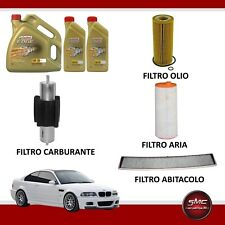 Kit tagliando olio CASTROL EDGE 5W30 6LT 4 FILTRI BMW 320D E46 110 KW