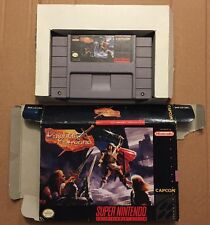 Knights Of The Round Super Nintendo SNES- RARE RPG - With The Original Box Only