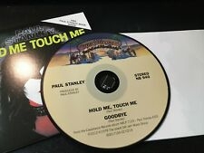 RARE CD Single  Paul Stanley Hold Me Touch Me/ Goodbye w/ FACE MASK  NM
