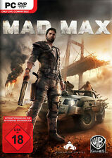 Mad Max Pour PC | ARTICLE NEUF | version allemande!