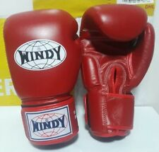Windy Boxing Gloves Red Bgvh 16 oz Sparring Muay Thai Mma Ship By Dhl Express