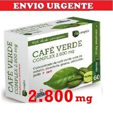 BNE002- CAFE VERDE Complex  800mg 60cps ANTIOXIDANTE ADELGAZANTE Natural E.