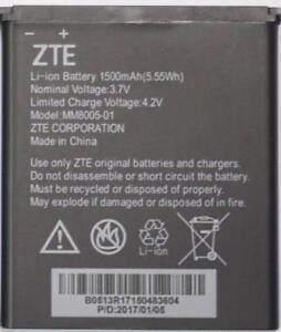 NEW OEM Original Genuine ZTE Battery MM8005-01 for Quest Uhura Quest N817