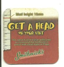 Bierviltje sous-bock Bierdeckel &16445 Smithwick's