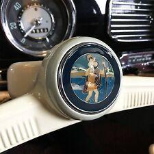 VW Volkswagen St Christophorus Horn Button Insert Bug Bus Ghia kdf okrasa heb