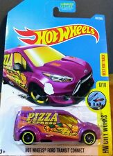 2017 Hot Wheels Ford Transit Connect Pizza Express - #143/365 City Works