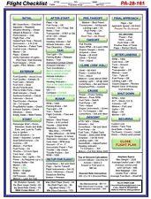 Piper Warrior Checklist