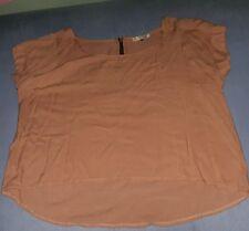 australian brand stylish blouse size12 fits L/xl normal frame..long back design