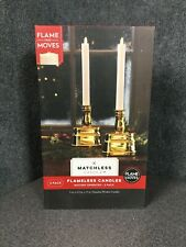 Matchless Candle Co. Battery Operated Moving Flameless Candles - 2-Pack M64C