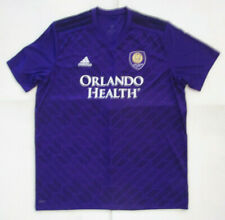 Adidas Orlando City F.C Home Soccer Jersey, New Purple MLS Official Licensed S