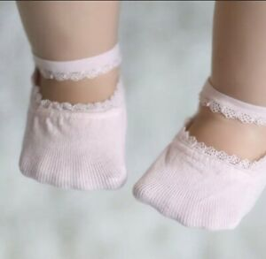 Baby Girl Summer Lace Socks/Pink /3-6 Months Baby Girl