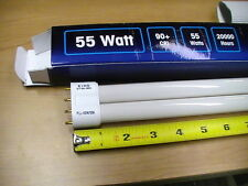 12 New Eiko DT55/955 55W   Fluorescent, Lamp Bulb NEW STYLE 2G11 KEY MASTER, ICE
