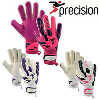 Precision Pro Women's Goalkeeper Goalie Gloves Football Fusion X3D
