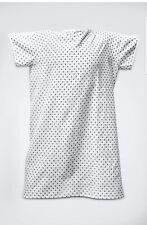 Springfield Linen Hospital Patient Gown Medical Exam 6 Pack Back circle and dots